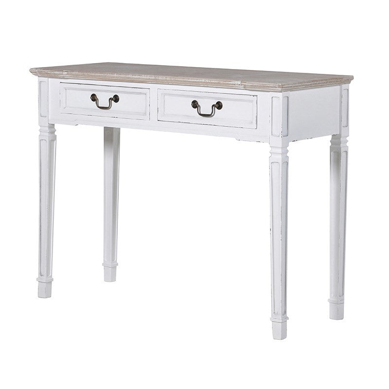 White Country Desk/Hall Table