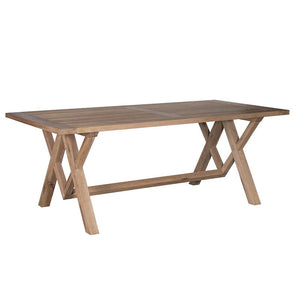 Limed Oak Large Refectory Dining Table