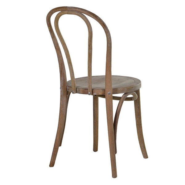 small bent wood dining chair