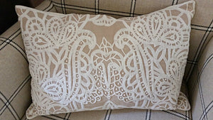 Embellished cushion