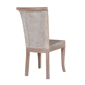 Tall back Rattan chair