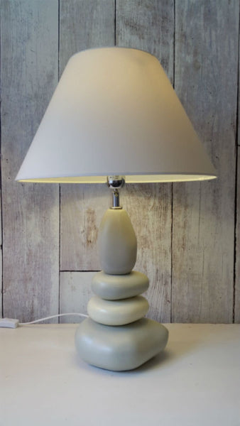 Pebble lamp decor us for Large pebble floor lamp