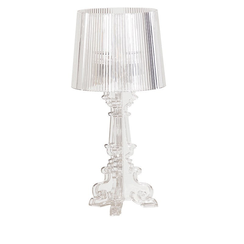 Perspex table lamp