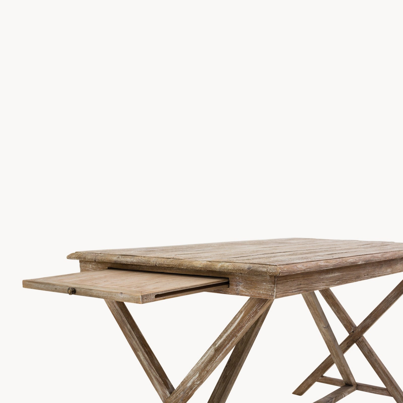 Small Weathered Dining Table Decorus