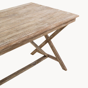 Small Weathered Dining Table