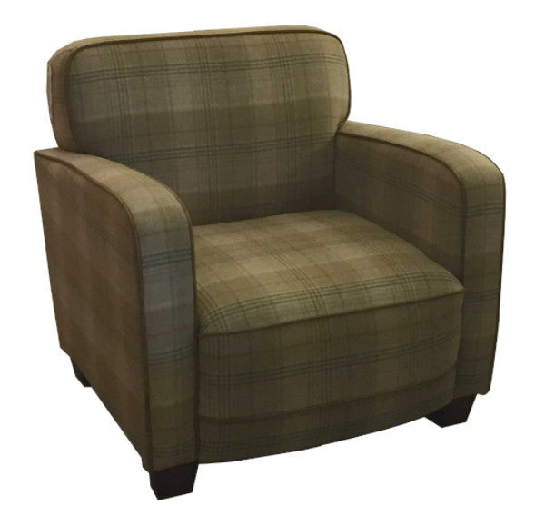 Pure Scottish Wool Armchair
