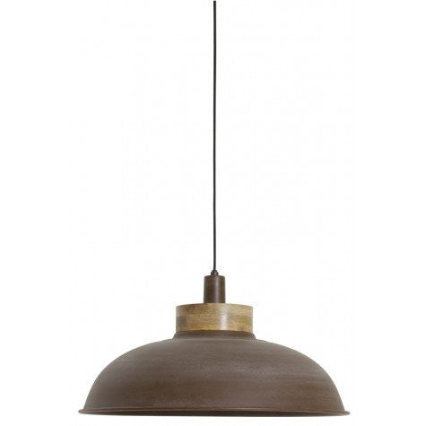 Brown Industrial Style Hanging Lamp
