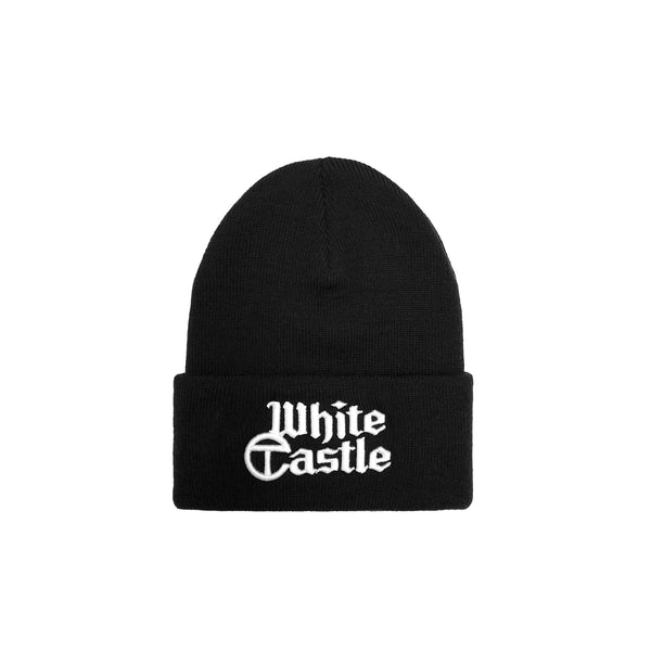White Castle Embroidered Beanie