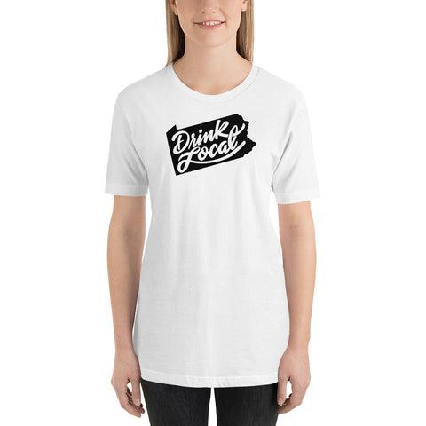 Drink Local Short-Sleeve Unisex T-Shirt