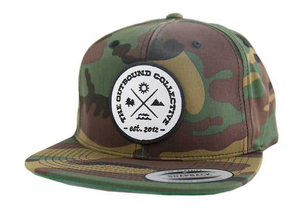 The Outbound Camo Snapback