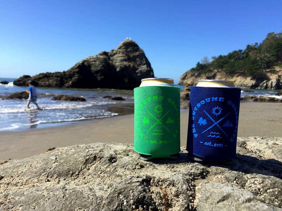 The Outbound Koozie (Blue)