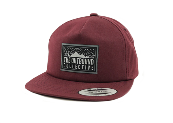 The Outbound Unstructured Hat (Maroon)
