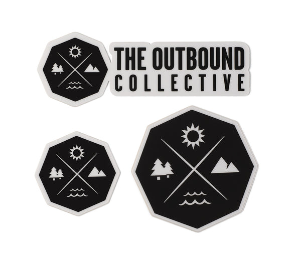 The Outbound Sticker Pack