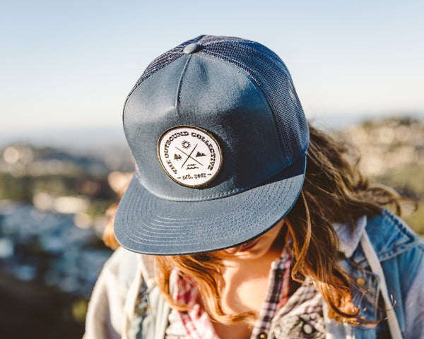 Adventure Trucker Hat (Navy)