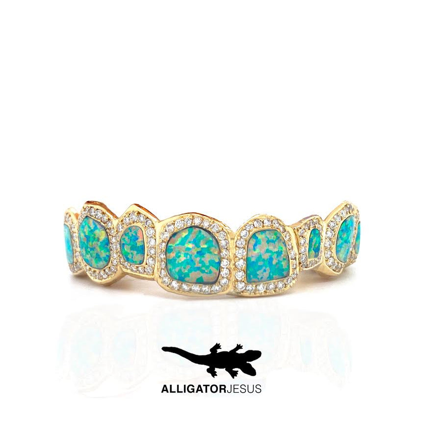 Diamond & Opal Grillz