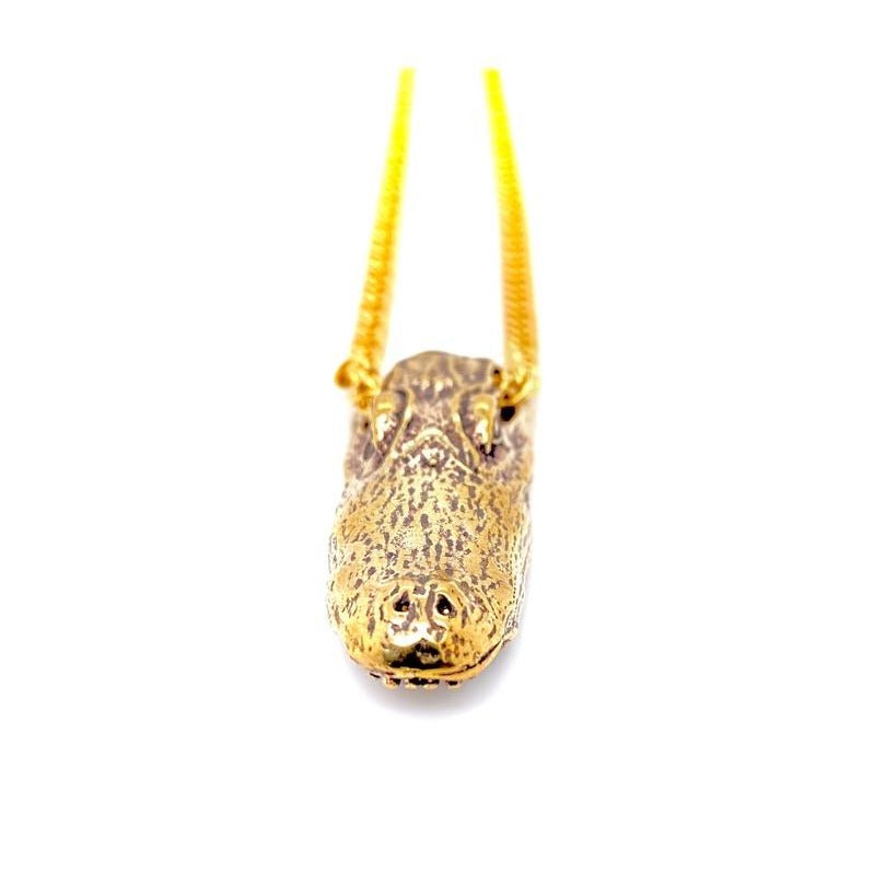 Alligator Head Pendant