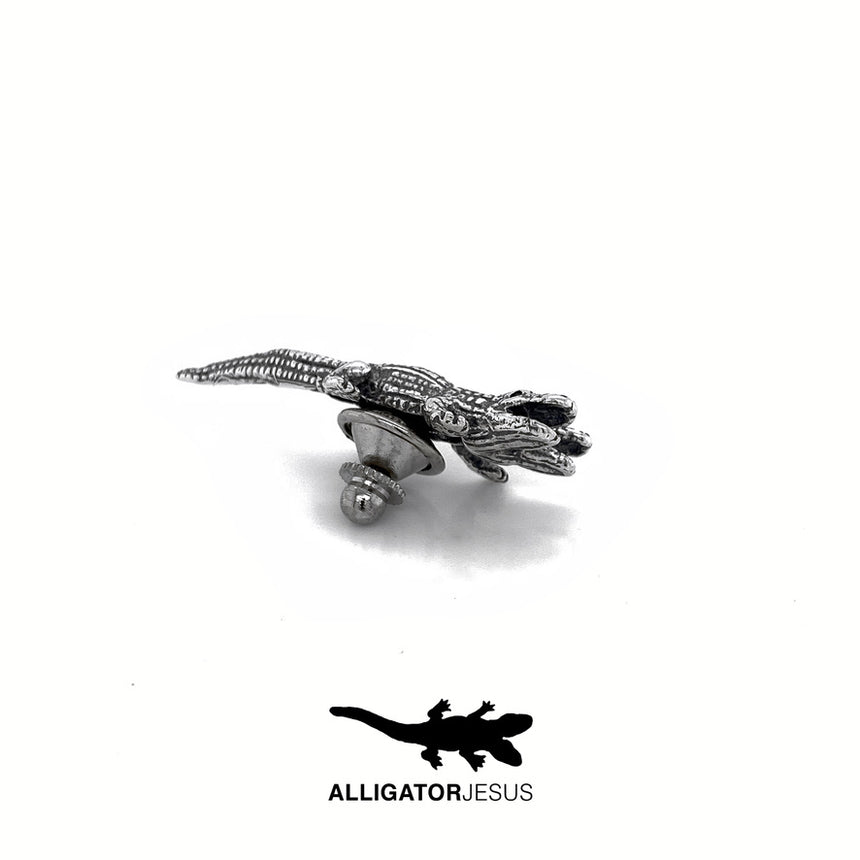 Two-Headed Alligator Pins