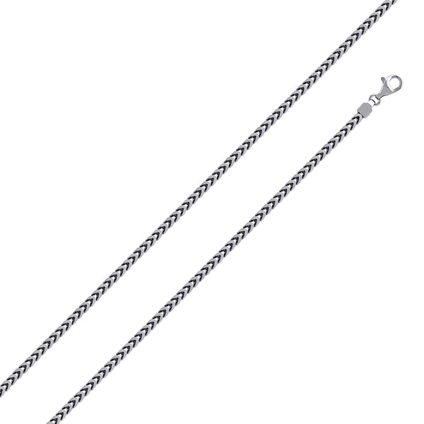 1.8mm Sterling Silver Franco Chain