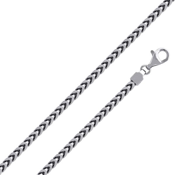 4.2mm Sterling Silver Franco Chain