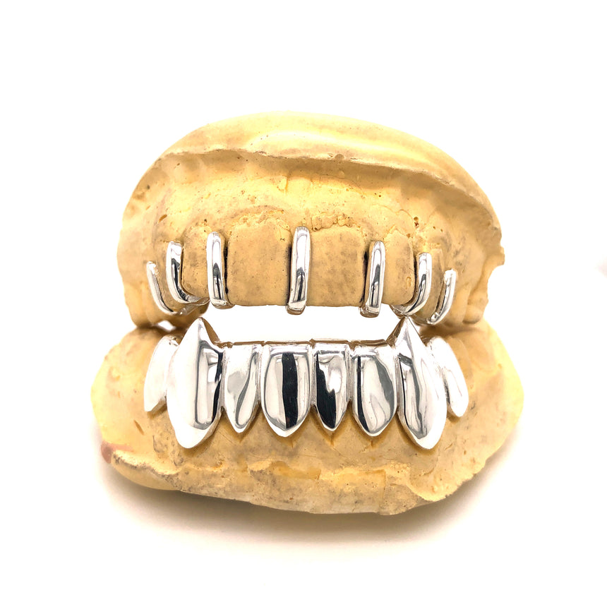 Silver Gap Fillers Grillz