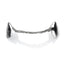 Silver Fang Grillz with Back Bar