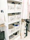 Customizable Closet Organizers