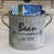 Personalized Vintage Zinc Bucket