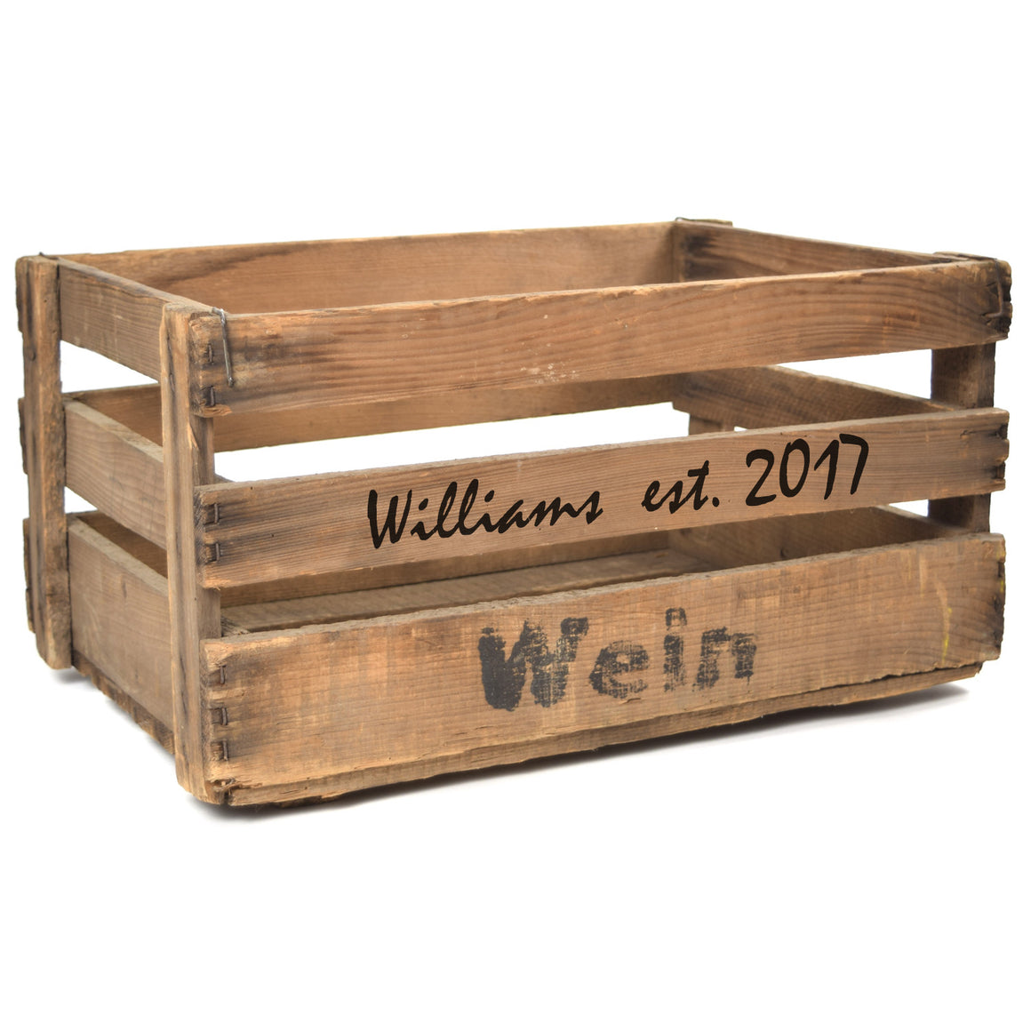 Personalized Vintage Wine Crate, Limited Edition - A Southern Bucket - 1
