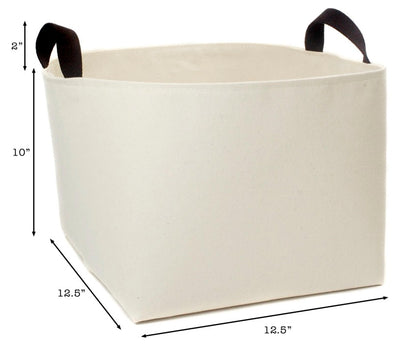 Towels Canvas Storage Basket