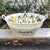 Personalized Vintage Oval Beverage Tub, Large