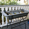 Personalized Vintage Beverage Trough with Stand - A Southern Bucket - 1