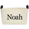 Callie Noah Canvas Basket