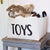 Toys Canvas Storage Bin