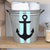 Hand painted Anchor Bucket