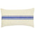 Blue Stripe Vintage Grain Sack Pillow