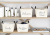 Towels Canvas Storage Basket - A Southern Bucket