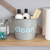 Cleaning Supplies Metal Organizer Bucket - A Southern Bucket