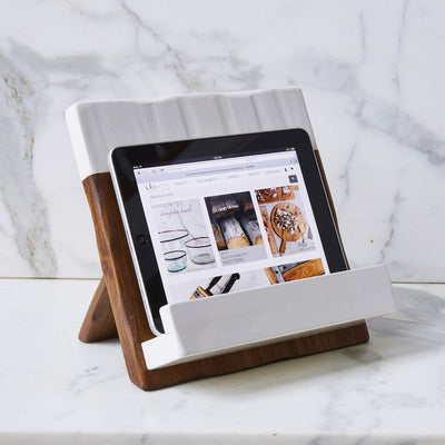 Reclaimed Wood Cookbook Holder