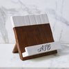 Monogrammed Cookbook Holder