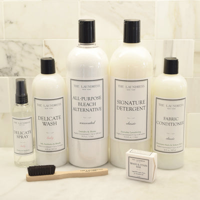 Hand Wash Luxury Laundry Gift Basket with The Laundress Soaps
