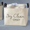 Dry Clean Only Canvas Storage