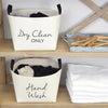 Dry Clean Basket Laundry Storage Set