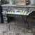 Gather Vintage Wine Trough with Stand