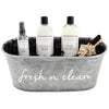 Fresh N Clean Luxury Laundry Gift Basket with The Laundress Soaps - A Southern Bucket