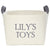 Personalized Canvas Toy Basket