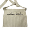 Southern Kitchen Cotton Striped Half Apron - A Southern Bucket
