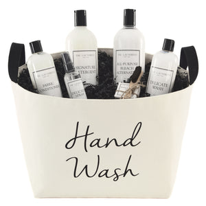 Hand Wash Luxury Laundry Gift Basket with The Laundress Soaps - A Southern Bucket