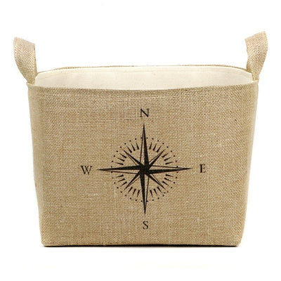 Nautical Compass Bucket
