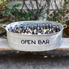 Open Bar French Vintage Zinc Wine Tub