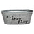 Sit Stay Play Dog Toy Bin